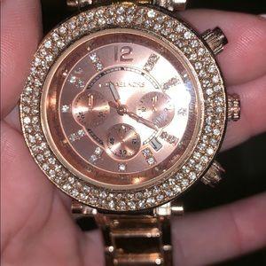 Michael Kors Watch rose gold diamond notauthentic